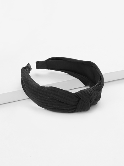 Knot Design Wide Headband