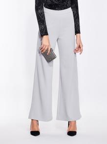 Pantalones anchos con cintura alta