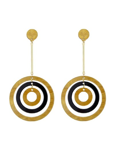 Circle Shape Earrings For Women Accessories