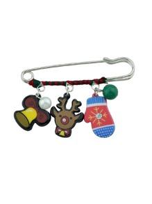 Christmas Design Brooch