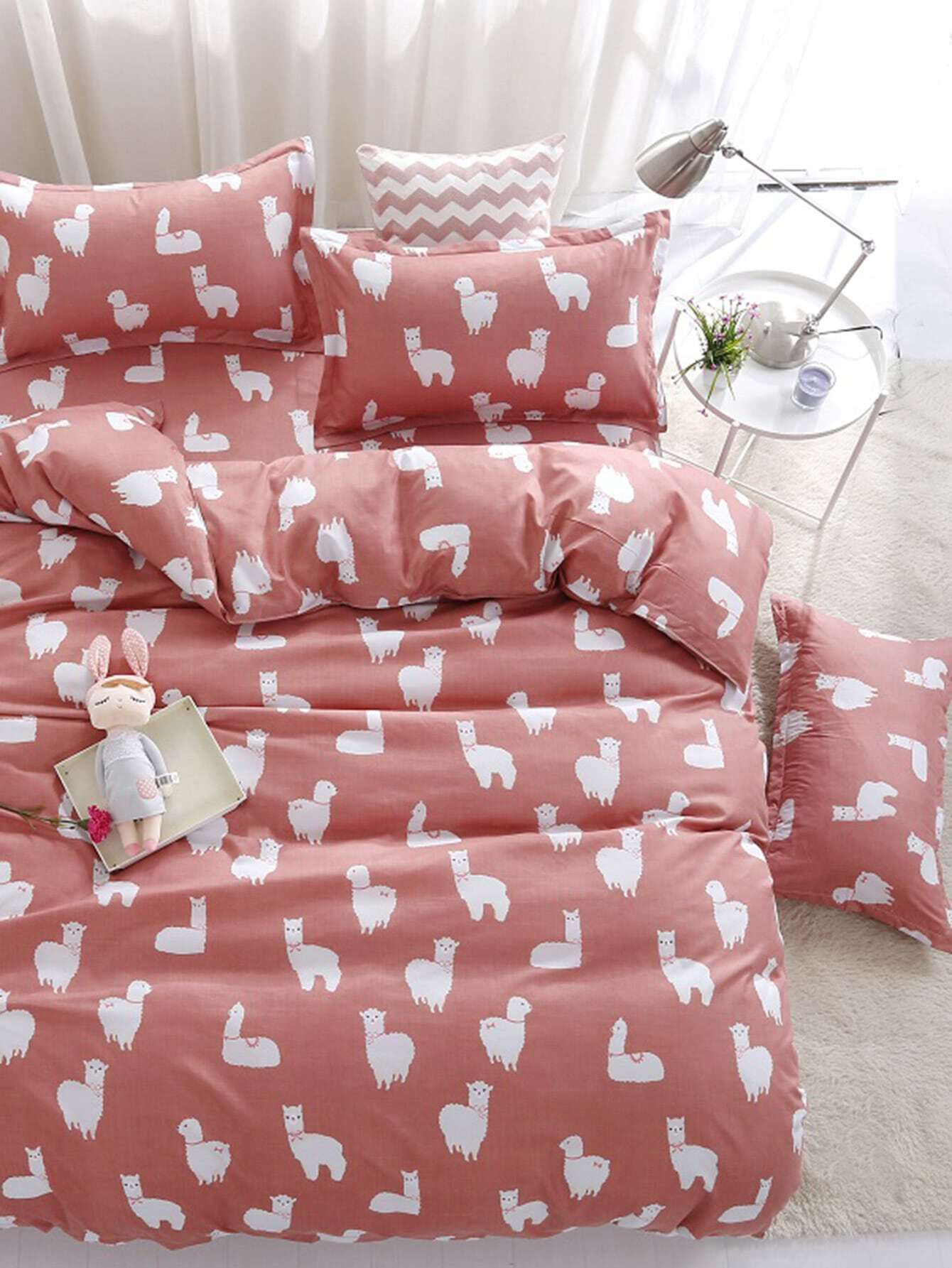 1.8m 4Pcs Animal Print Duvet Cover Set kari кеды