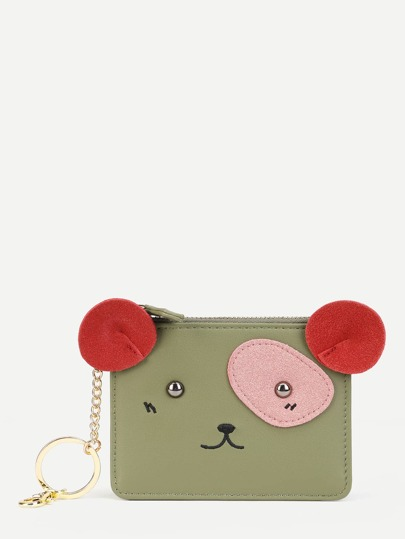 Cartoon Design PU Wallet