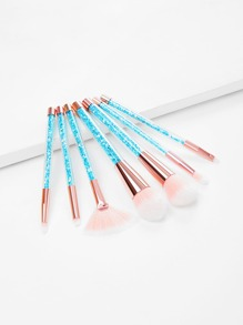 Ombre Bristle Makeup Brush 7pcs