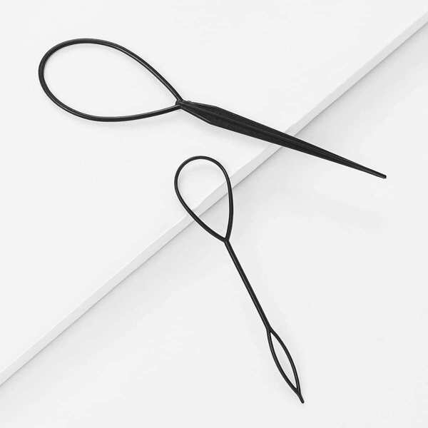 Pull Needle Hair Stick Hairdressing Tool 2pcs