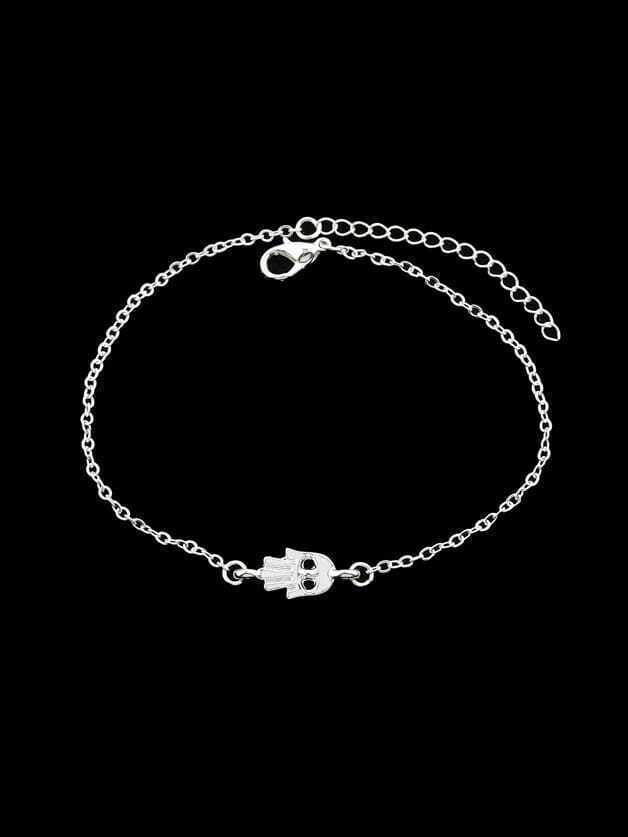 Silver Rhinestone Charm Bracelets & Bangles Women a suit of rhinestone owl charm bracelets