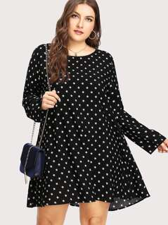 Allover Star Print Dress