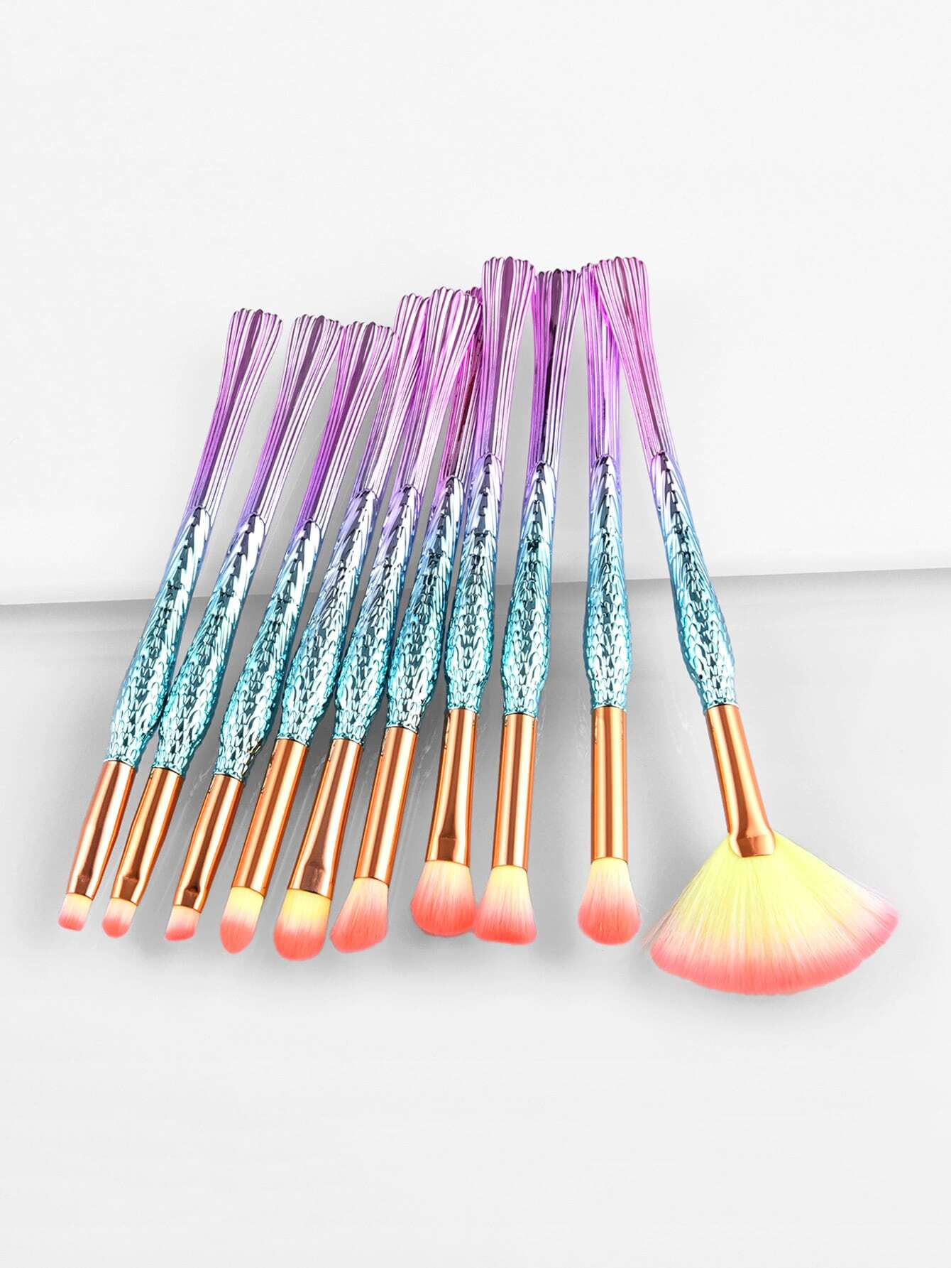 Image of Ombre Handle Makeup Brush 7pcs