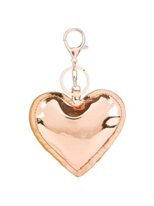 Heart Shaped Design Keychain