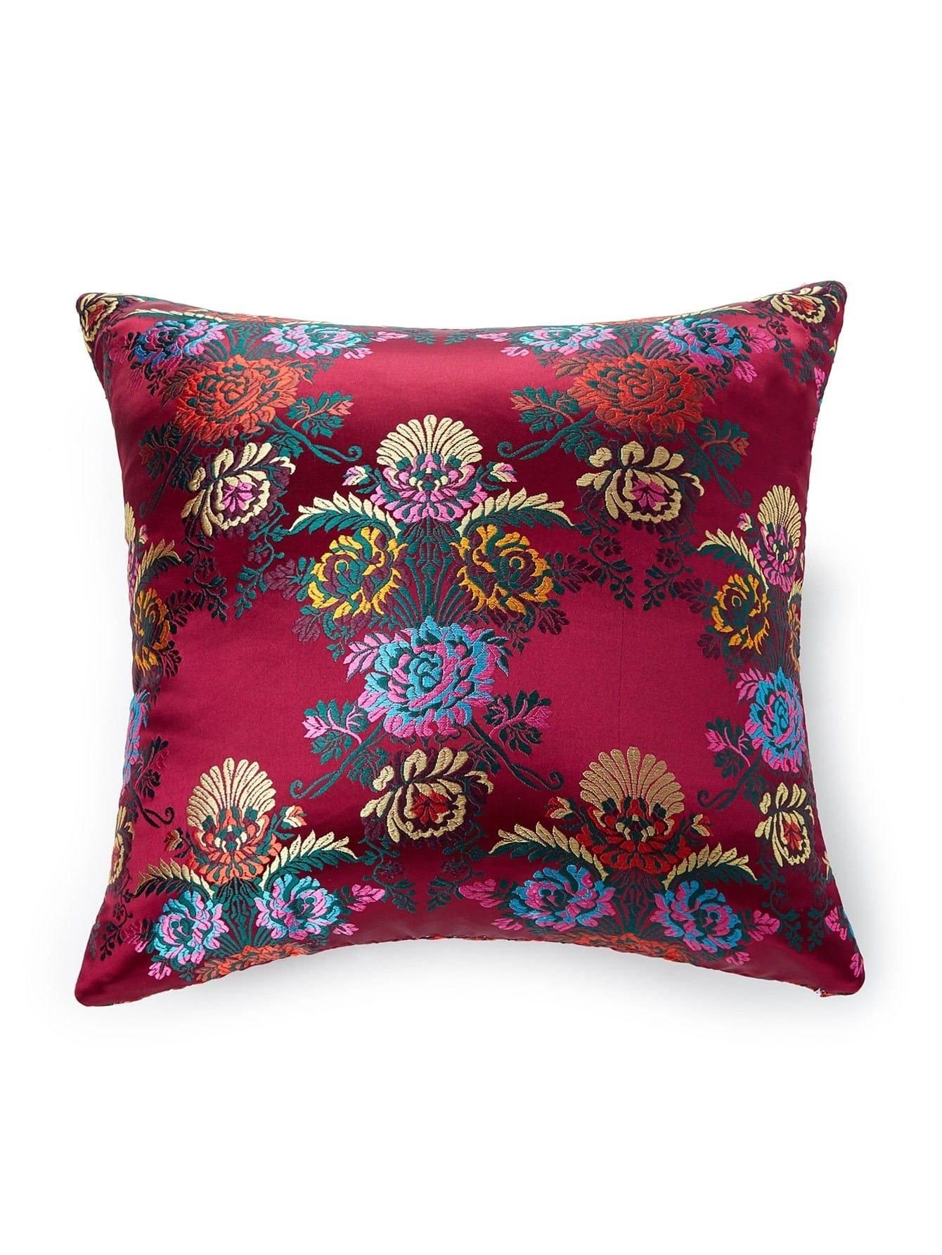 Jacquard Satin Pillowcase Cover pillow171207303
