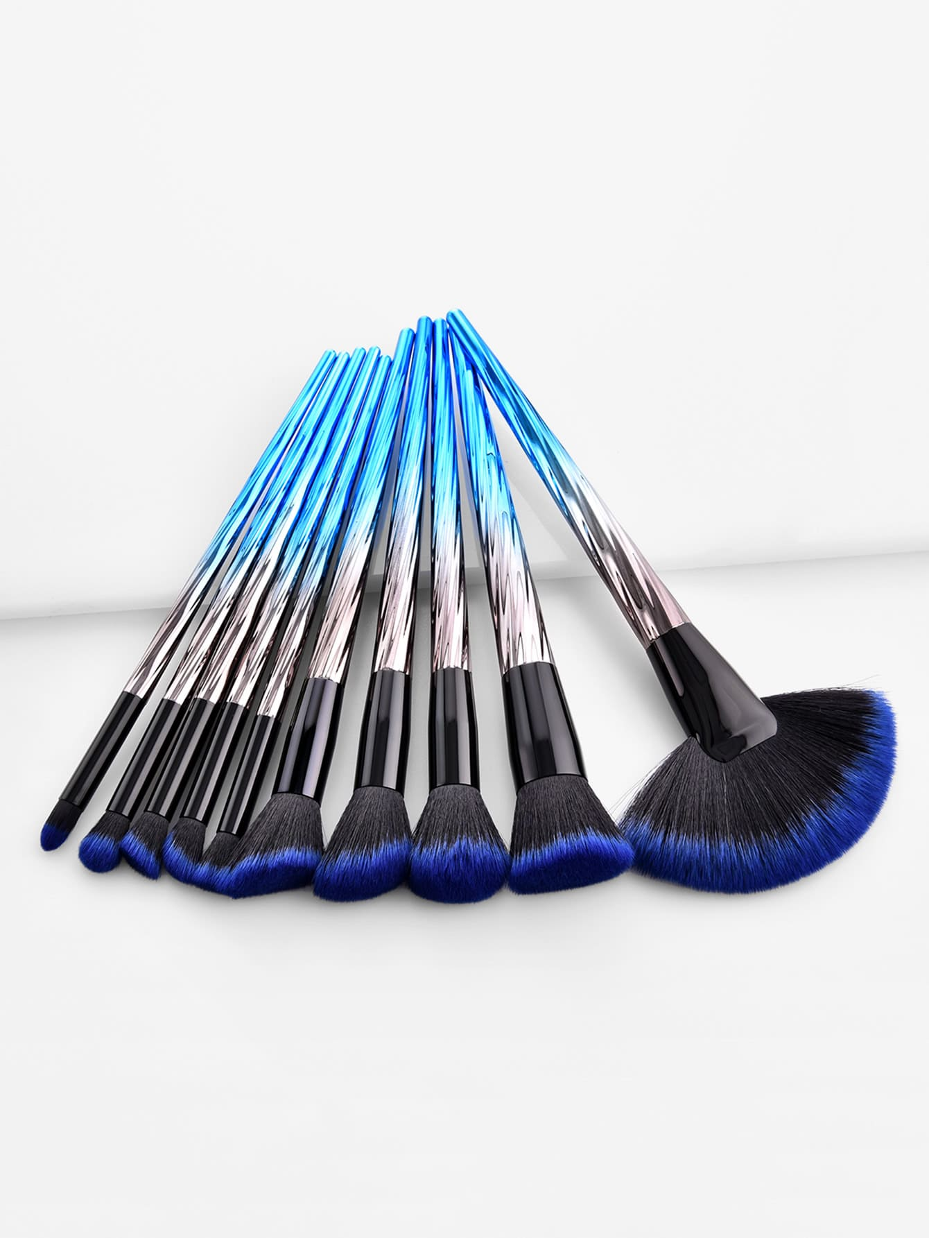 Image of Ombre Handle Makeup Brush 10pcs