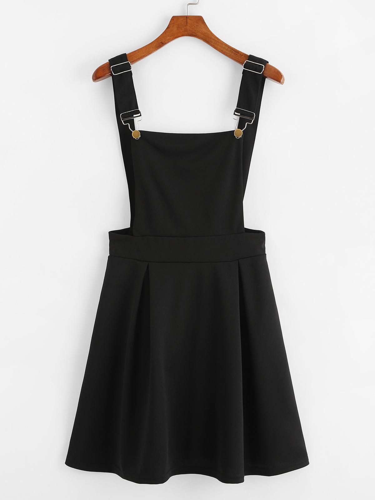 摺邊 拉鏈 背 圍裙 洋裝