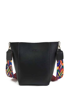 PU Shoulder Bag With Guitar Strap