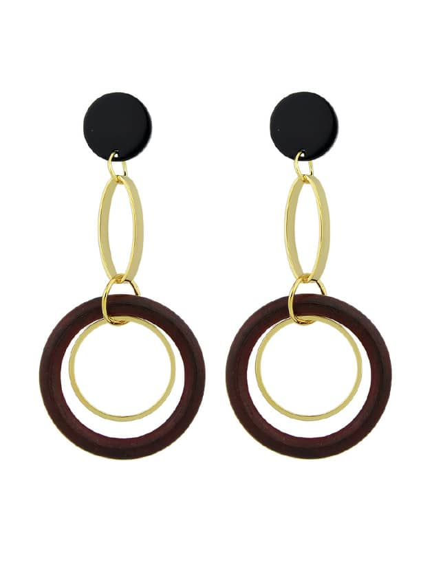 Red Circle Colorful Resin Party Big Hanging Earrings For Women resin assembly kits 1 9 200mm police girl 200mm unpainted kit resin model free shipping