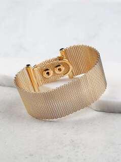 Chain Link Banded Bracelet GOLD