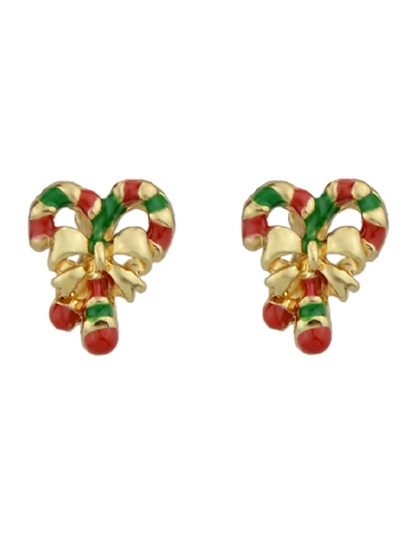 Enamel Bowknot Cute Stud Earrings For Women