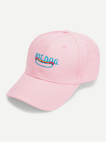 Embroidered Food Baseball Cap