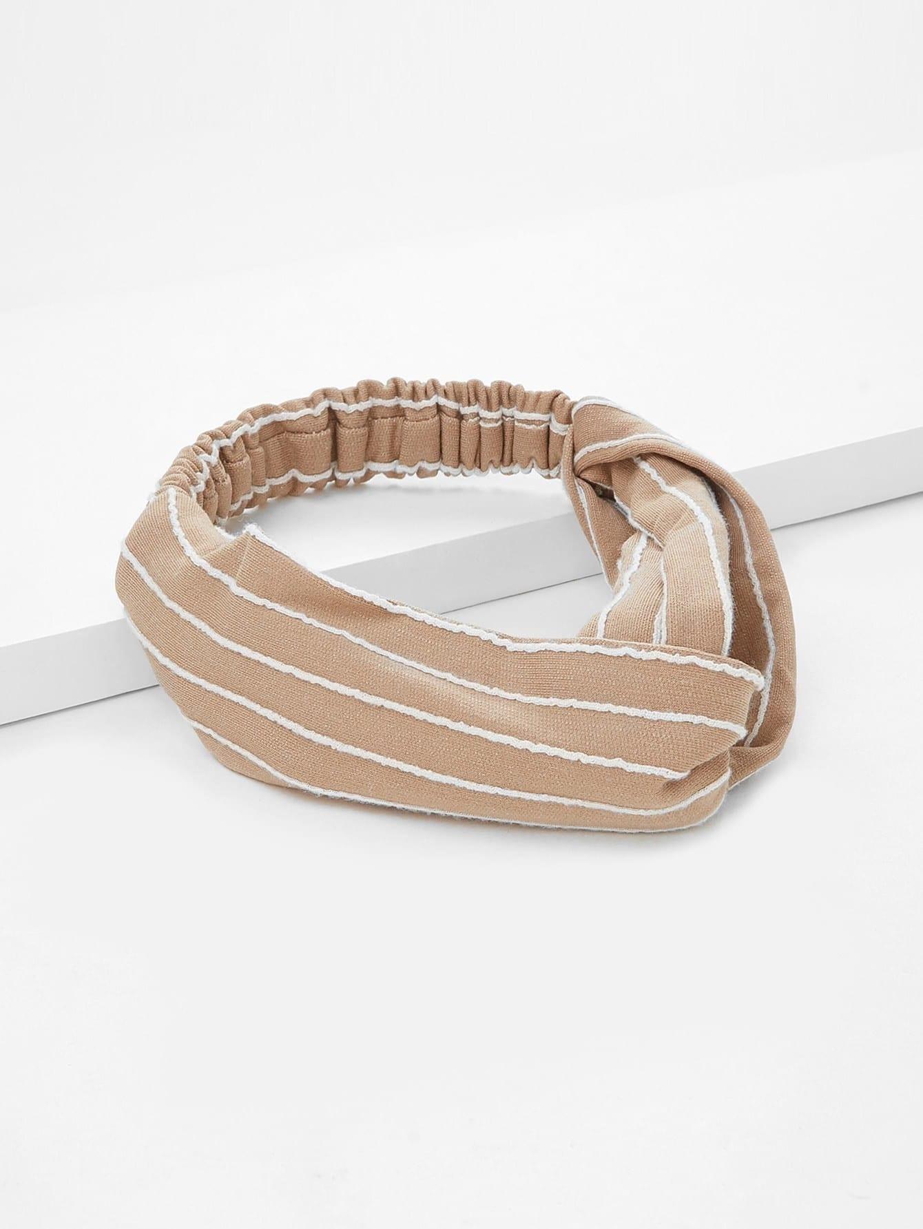 Striped Twist Headband
