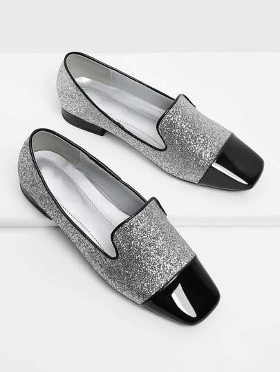 Mocasines brillante