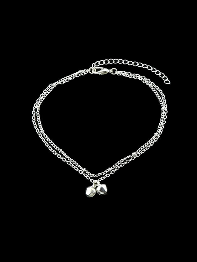1Pc Bohemia Chain Anklets With Bells Charms Anklets Beach