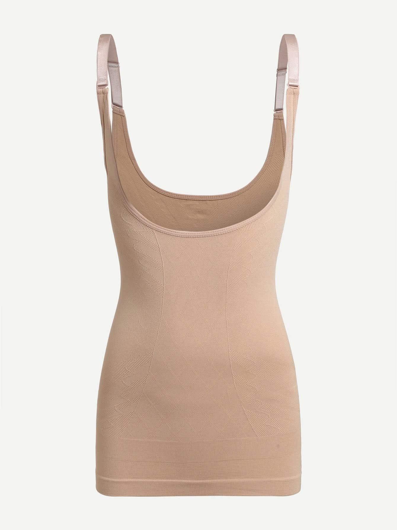 Open Cup Shapewear Slips lingerie180111359