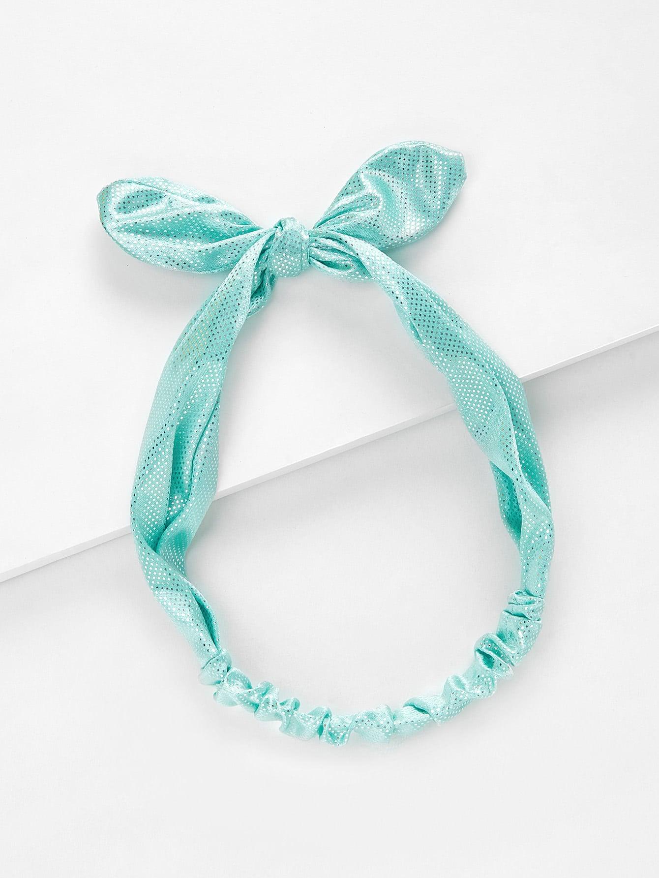Sequin Knot Headband