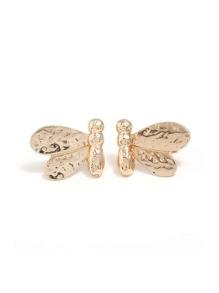 Metal Insect Design Stud Earrings