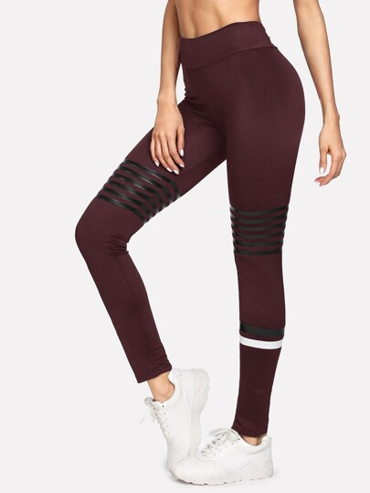 Striped Tight Leggings
