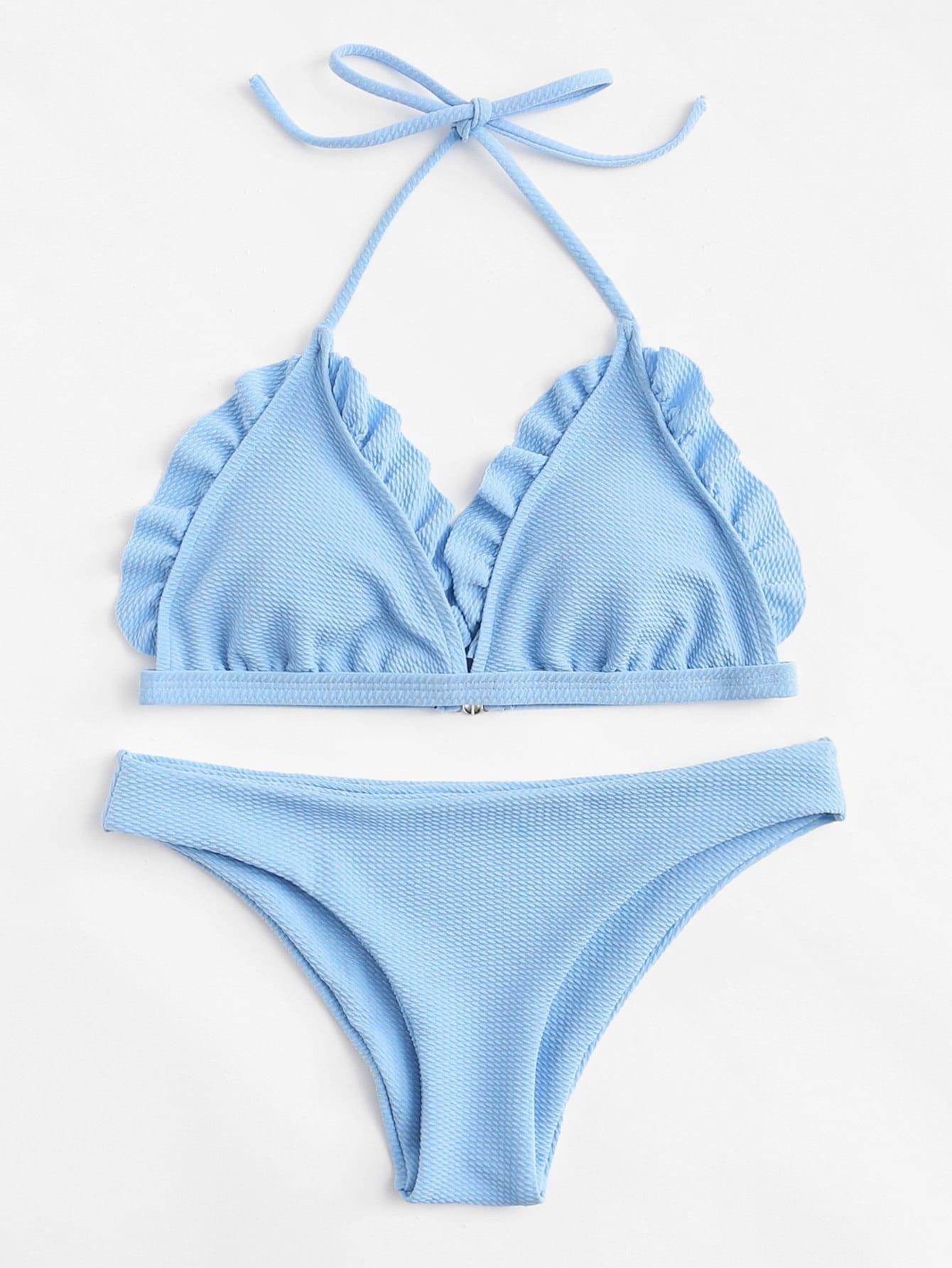 Frill Bikini Set swimwear180110313