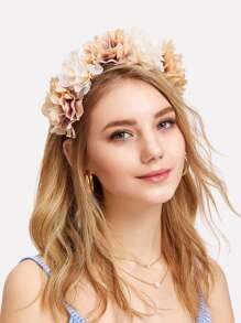 Flower Decorated Headband