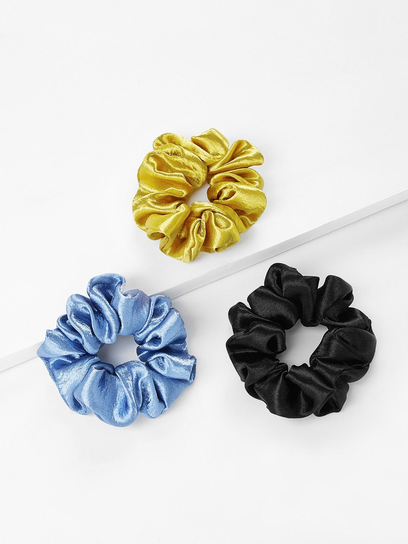 Three Color Hair Tie 3pcs hair tie 3pcs