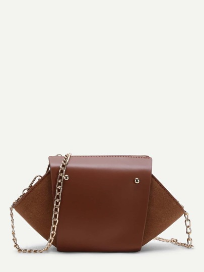 Shoulder Bag With Convertible Strap