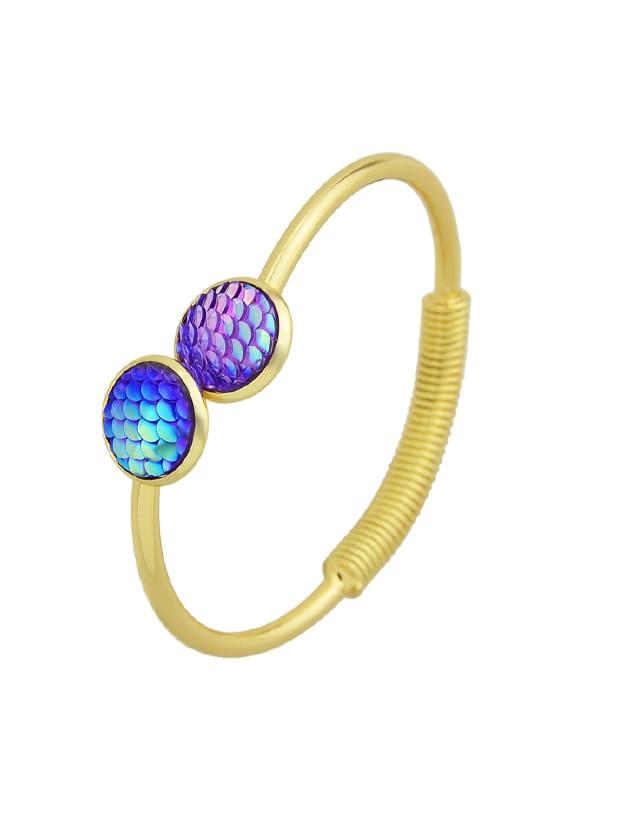 Sirène Violette Balance Amour Bracelets