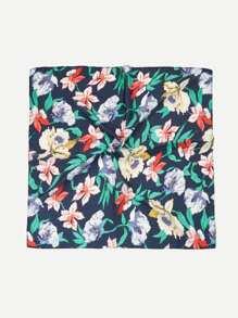Flower Print Bandana