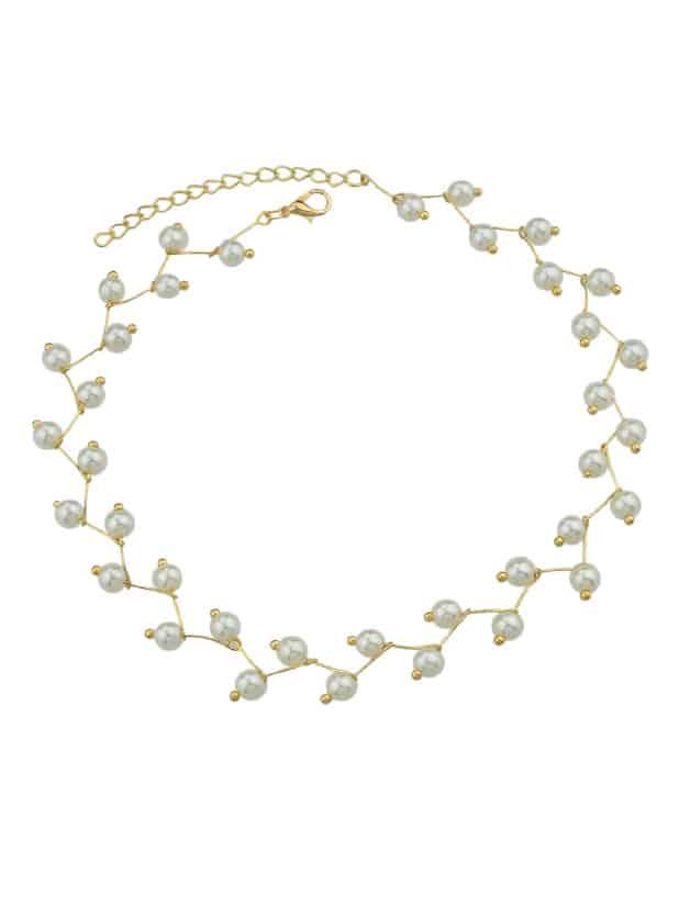 Luxury Pearl Necklace серьги fiore luna sah 22659 1 bl