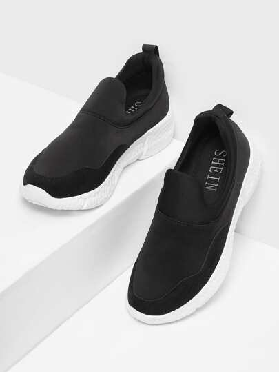 Low Top Slip On Sneakers
