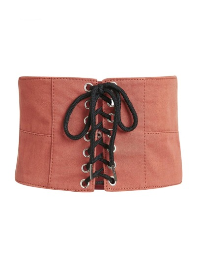 Lace Up Belt