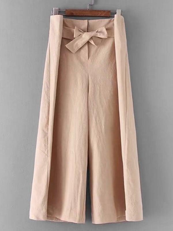 Самостоятельные штаны для палаццо