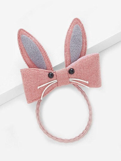 Rabbit Charm Hair Tie