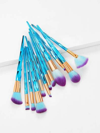 Diamond Handle Makeup Brush Set 12pcs