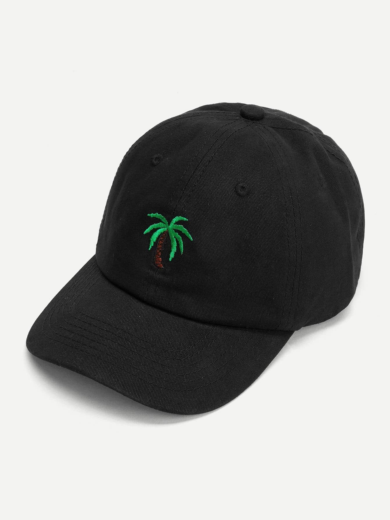 Embroidered Palm Baseball Cap palm tree baseball cap