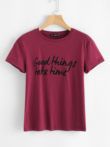 Good Things Take Time Tee