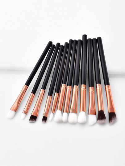 Soft Bristle Eye Brush 12pcs