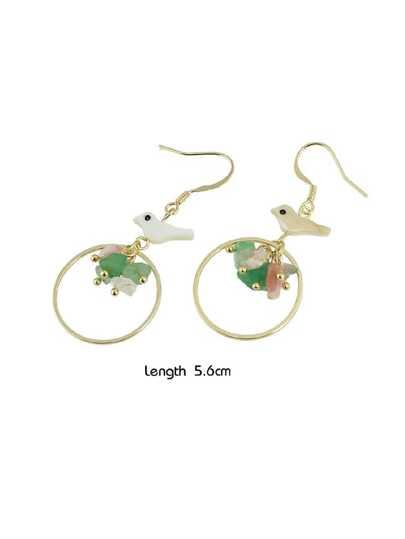 Cute Bird Drop Dangle Earrings