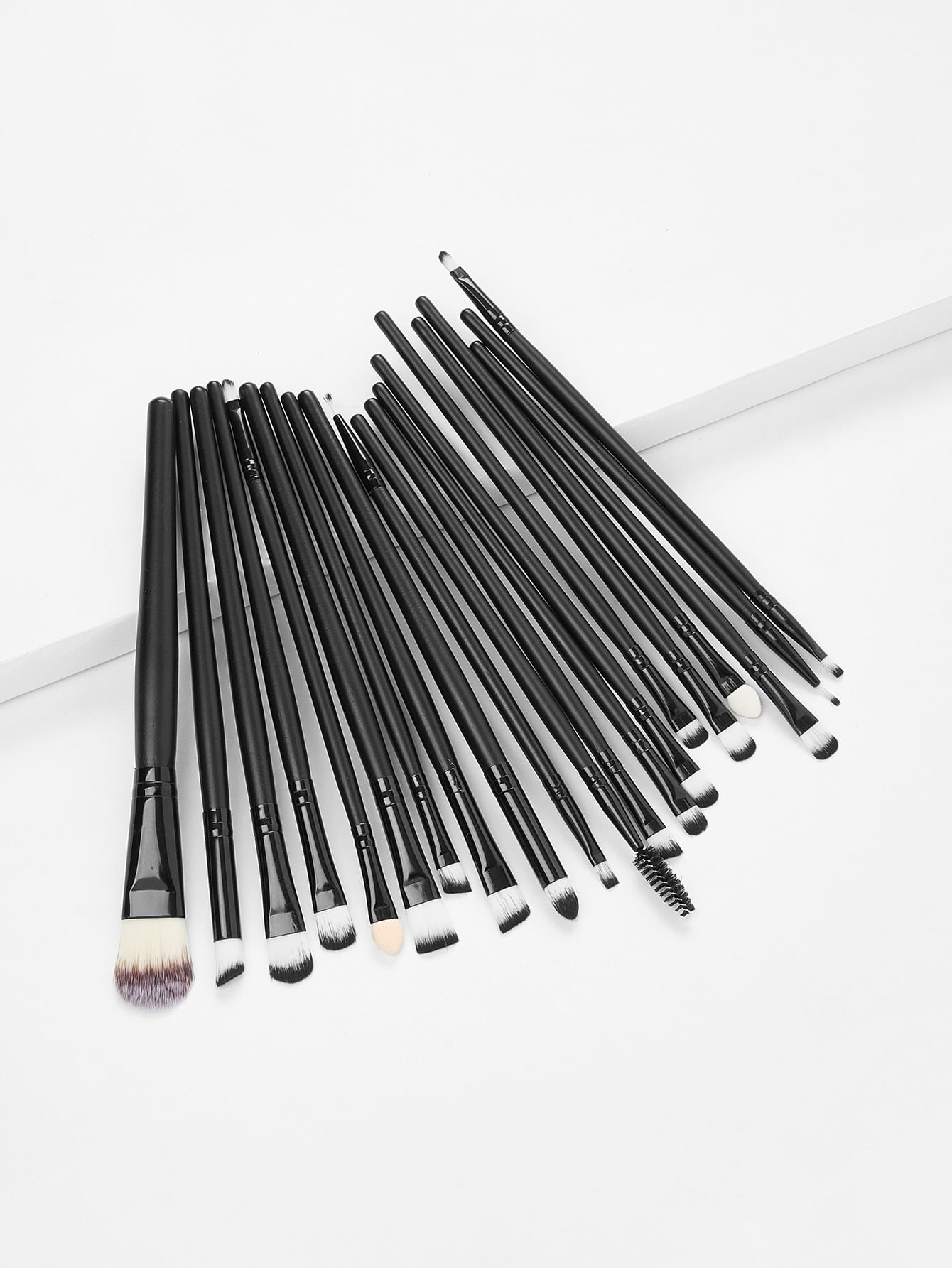 Professional Makeup 20pcs Brushes Set Powder Foundation Eyeshadow Eyeliner professional 24pcs pink cosmetic makeup brushes set foundation eye shadow eyeliner cream powder brush kits pouch bag case