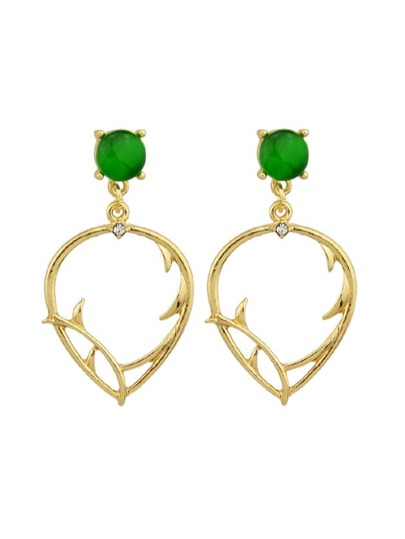 Literary Simple Leaves Earrings