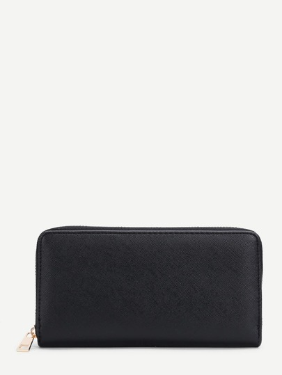 Zipper Around PU Wallet