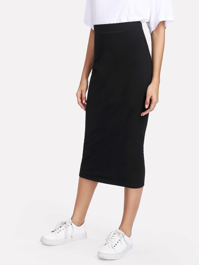 Sheath Midi Skirt