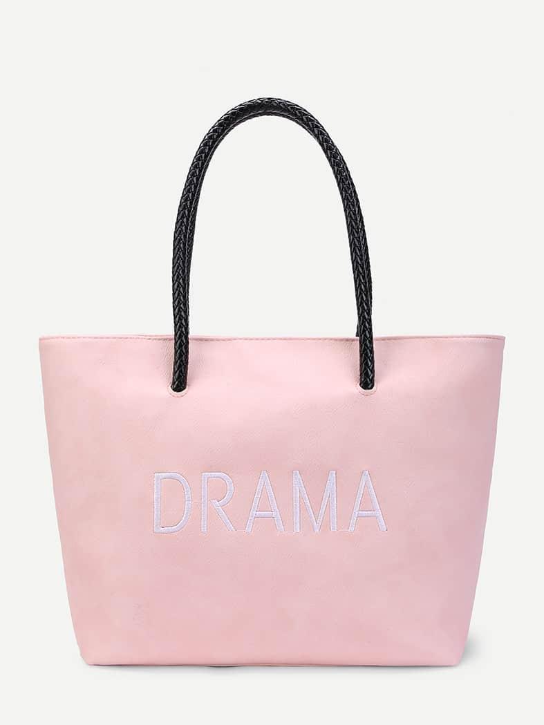 Slogan Shopper Tote Bag bag171121301