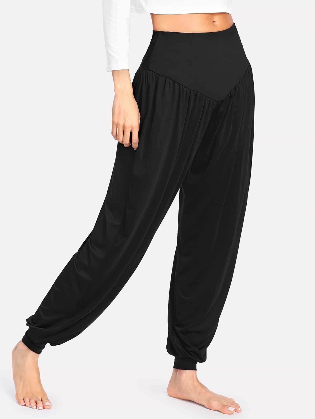 Купить Модные брюки с эластичной талией, Andy, SheIn