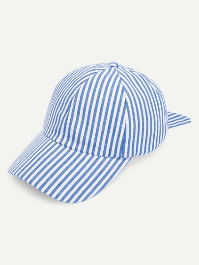 Striped Knot Baseball Cap